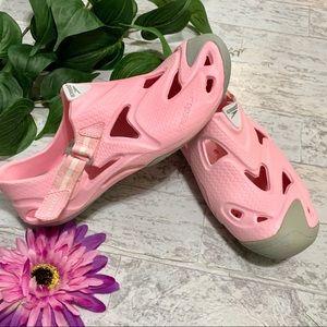 Speedo Pink Waterproof Rubber Shoes Sz 7